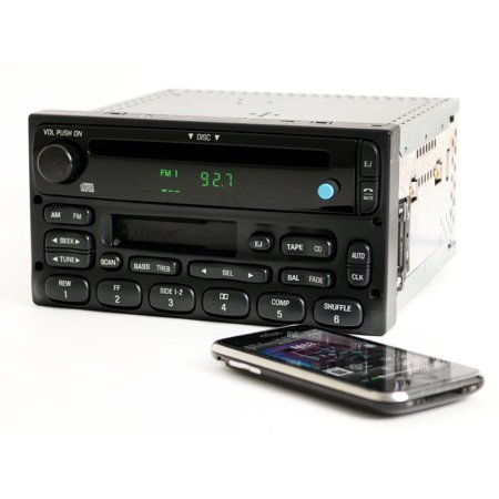- Ford Truck and Van Radio 1999-2010 AM FM CD CS w Bluetooth Music 1F2F-18C868-AA - Refurbished