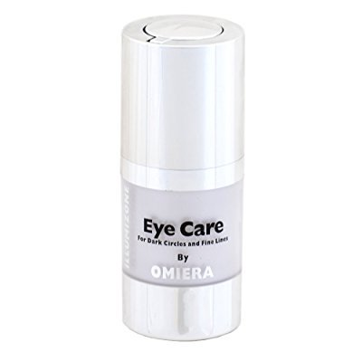 omiera labs illumizone dark circles under eye treatment serum. best under eye bags, dark spots, wrinkles, and puffiness remover. 0.5 fl. (Best Under Eye Pads For Puffiness)