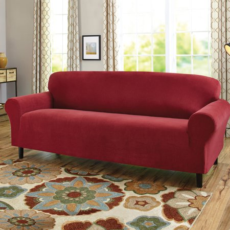 Stretch Pinwale Corduroy (Better Homes and Garden 1-Piece Stretch Fine Corduroy 1-Piece Sofa Slipcover)