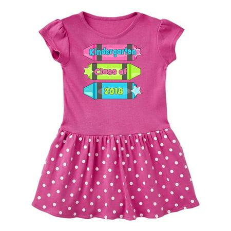Kindergarten Class of 2018 grad crayons Toddler Dress](Crayon Dress)