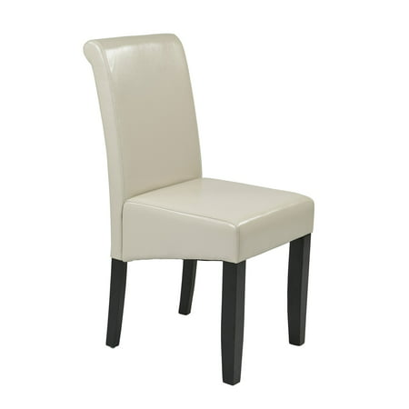 Metro Parsons Chair  Cream Leather