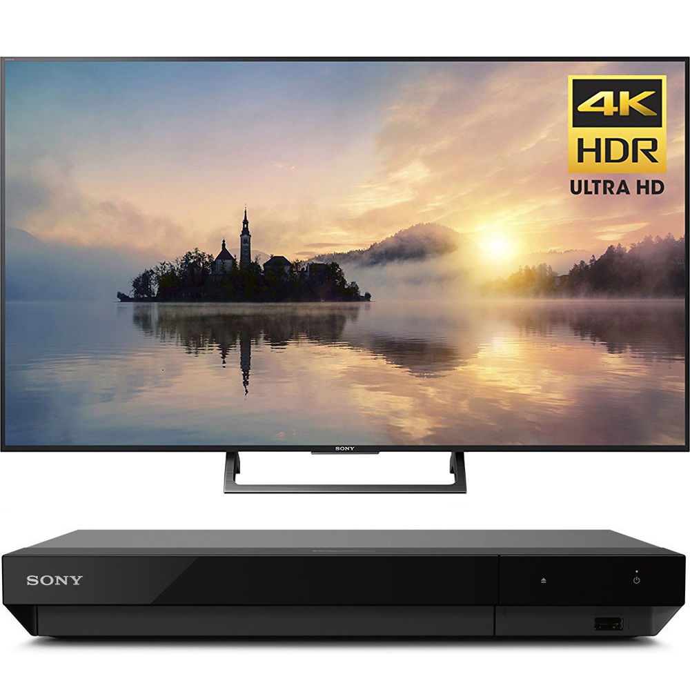 "Sony 43"" class (42.5"" diag) 4K HDR Ultra HD TV (KD-43X720E) with Sony 4K Ultra HD Blu Ray Player with Dolby Vision"