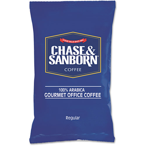 Chase & Sanborn 100% Arabica Gourmet Office Coffee, 1.25 oz, 42 count