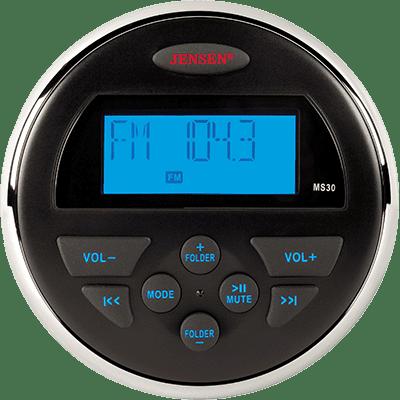 Jensen MS30RTL AM FM USB Waterproof Compact Stereo by ASA