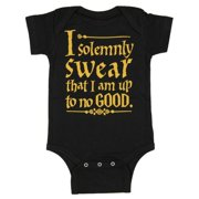 Unisex Baby Up To No Good One Piece Snapsuit
