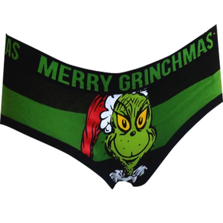 Dr. Seuss Merry Grinchmas Grinch Santa Hat Hipster
