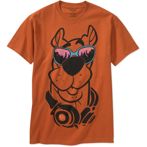 Men's Graphic Tee Scooby Glasses