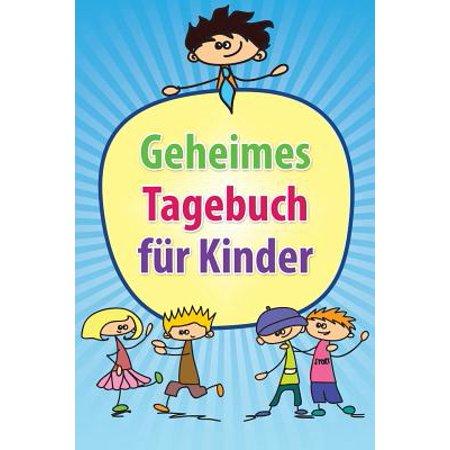 Geheimes Tagebuch Fur Kinder (Vorgeben Brille Für Kinder)
