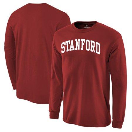Stanford Cardinal Basic Arch Long Sleeve T-Shirt - Cardinal (Stanford University-shop)