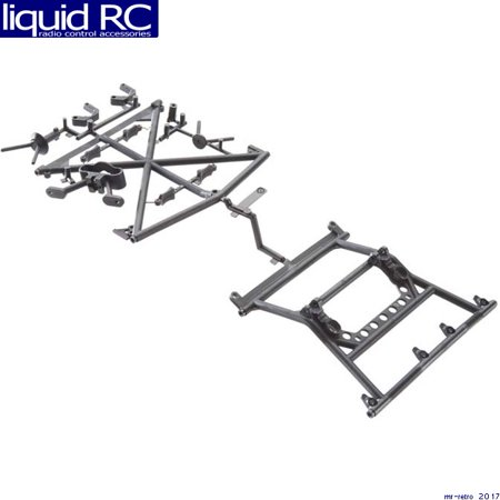 Axial Racing AX31117 Axial Y-380 Cage Top Carrier Yeti Rear/Tires