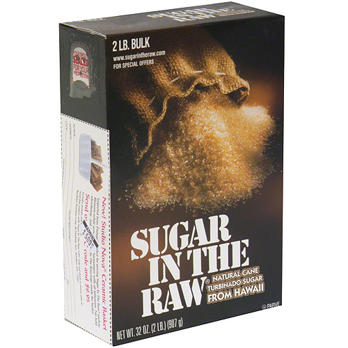 Sugar In The Raw Natural Cane Turbinado Sugar, 32 oz (Pack of 12)