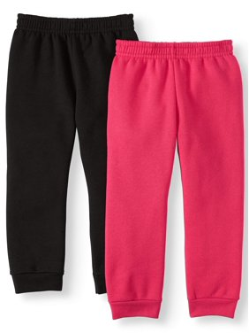 Garanimals Solid Sweatpants, 2pc Multipack (Toddler Girls)