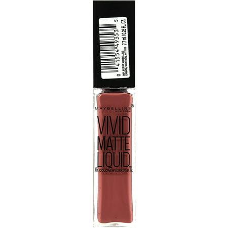 Maybelline New York Color Sensational Vivid Matte Liquid
