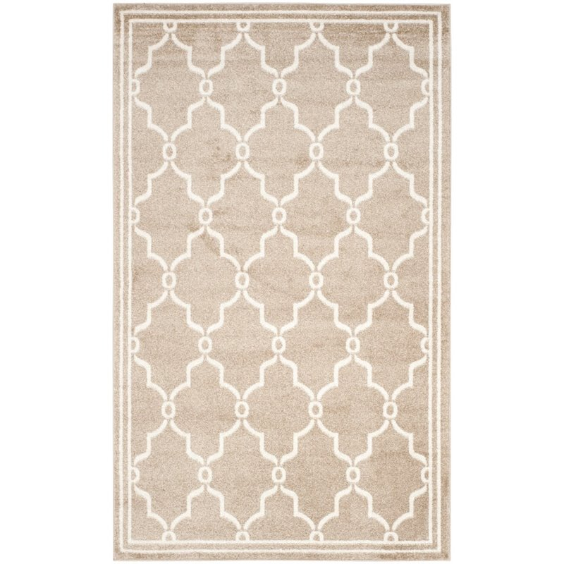 Safavieh Amherst 9' X 12' Power Loomed Rug in Wheat and Beige - image 1 of 3