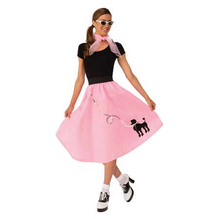 Womens Poodle Skirt - Poodle Skirt Shoes