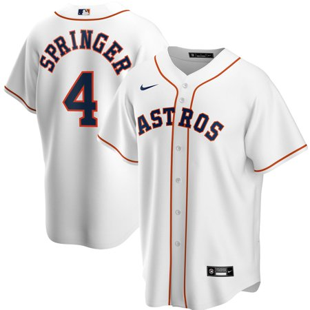 George Springer Houston Astros Nike Home 2020 Replica Player Jersey - White 10 Nike Replica Home Jersey