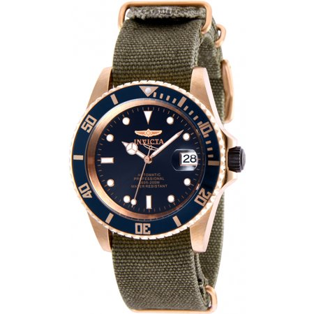 Rose Tone Automatic Watch (Invicta 27628 Pro Diver Men's 42mm Automatic Rose Gold-Tone Steel Blue Dial )