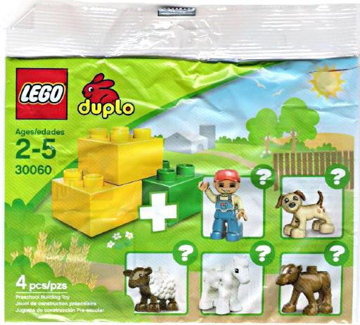 DUPLO Preschool Building Toy Mini Set Lego 30060 [Bagged] by