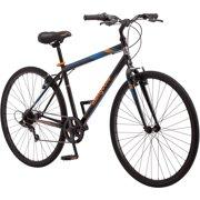 700C Mongoose Hotshot Men's Bike, Black / Orange