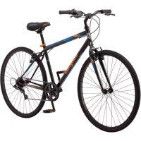 Mongoose 700C Hotshot Men's Bike (Black / Orange)