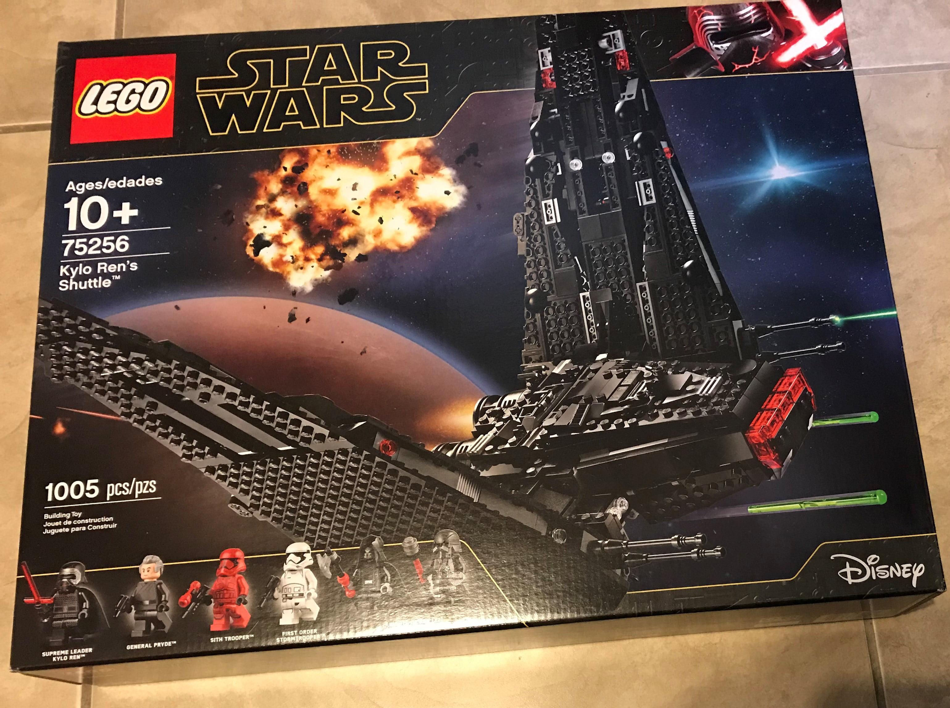 Lego Star Wars Rise Of Skywalker Kylo Ren S Shuttle 75256 Set New Factory Sealed Walmart Com Walmart Com
