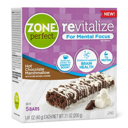 UPC 638102664204 product image for ZonePerfect Revitalize Energy Bars, with Caffeine For Mental Focus, Hot Chocolat | upcitemdb.com