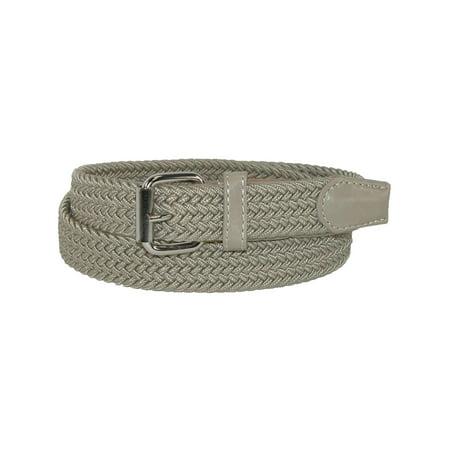 Kid's Elastic Braided Stretch Belt (Kids Belts)