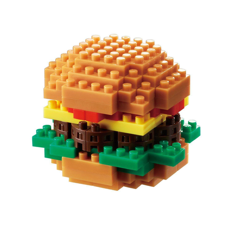 Hamburger (Nanoblock) Building Set by Nanoblock (NBC217) by nanoblock