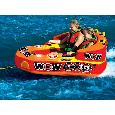 WOW World of Watersports 14-1060 Bingo Towable, 2 Rider