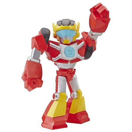 Playskool Heroes Transformers Rescue Bots Academy Mega Mighties Hot Shot Collectible 10-Inch Robot Action Figure, Toys for Kids Ages 3 and Up](Rescue Bot)