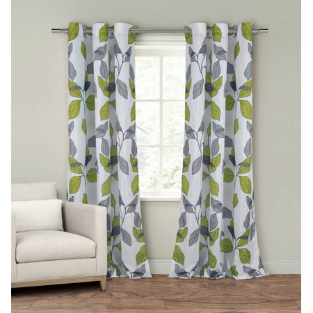 Set of Two (2)  Window Curtain Panels: 110