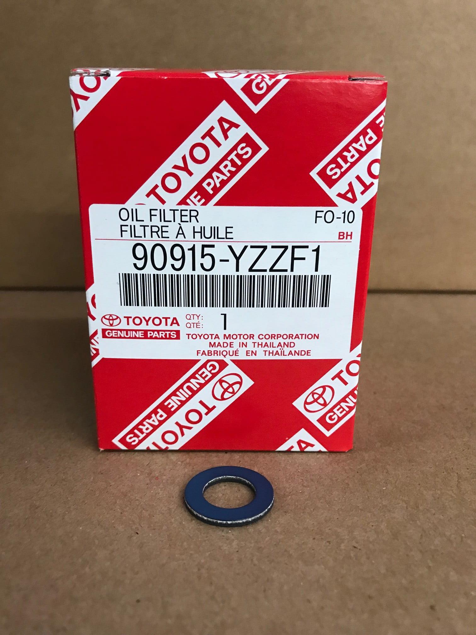 Toyota Genuine OEM Oil Filter 90915-YZZF1 Set of 5