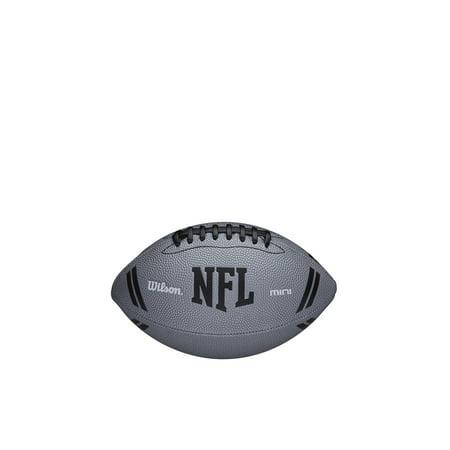 Wilson NFL Mini Football - Gray