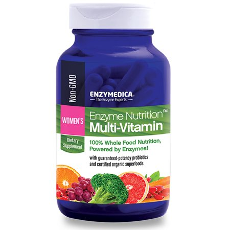 - Enzymedica, Enzyme Nutrition Multi-Vitamin, Women's, 120 Capsules