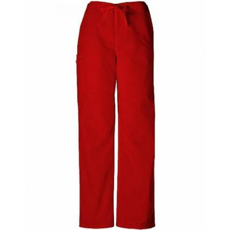 WorkWear 4100 Adult's Drawstring Scrub Pant Terracotta XXSmall (Cherokee Womens Drawstring Pants)