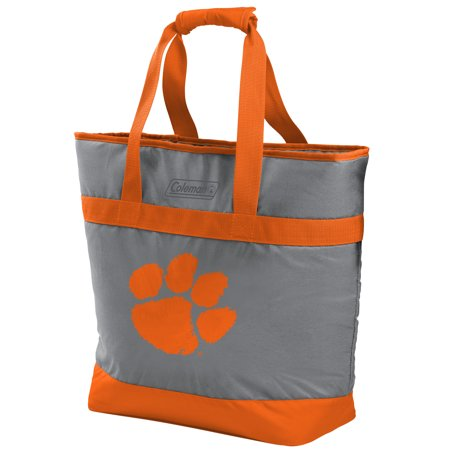 NCAA Clemson Tigers 30 Can Soft Sided Tote Cooler