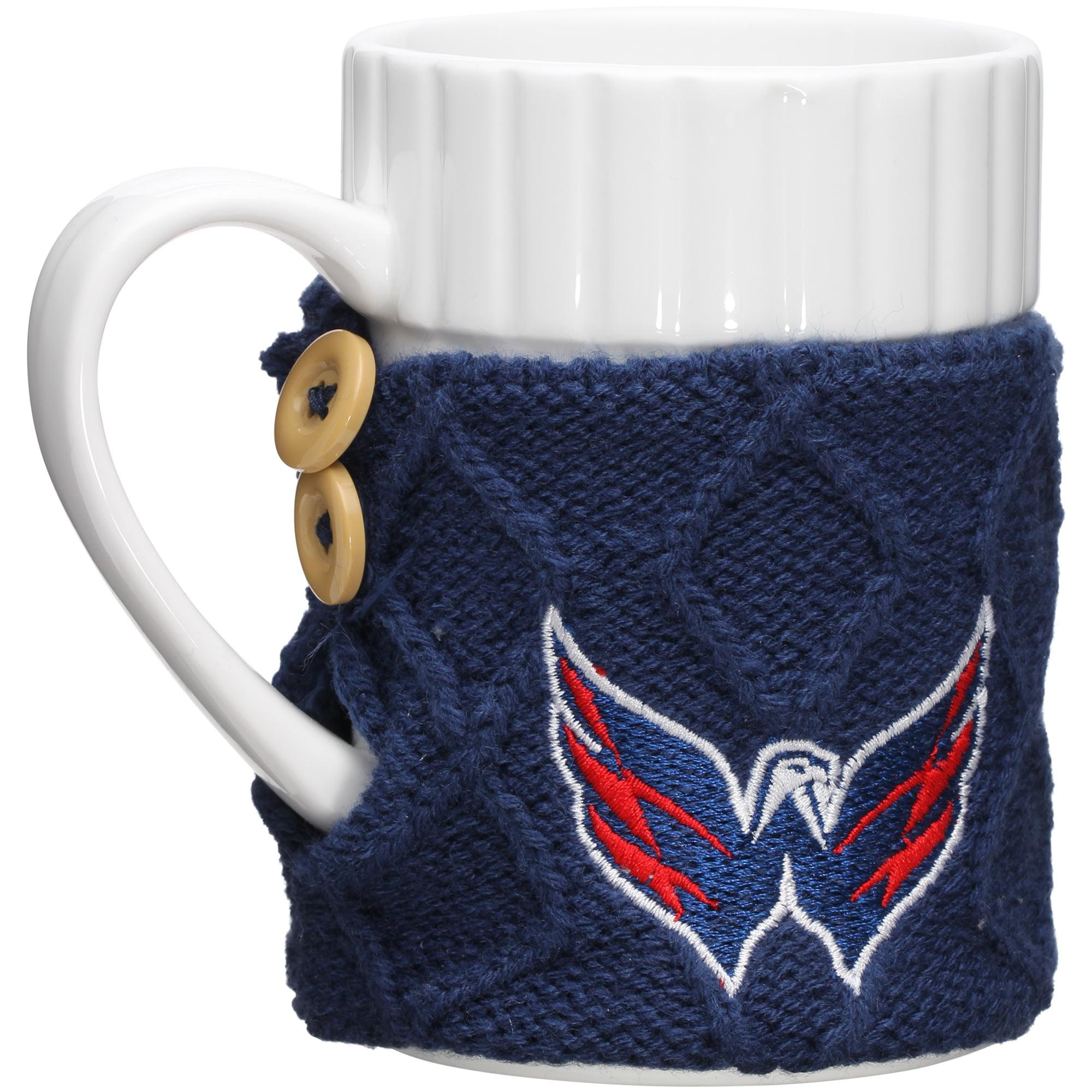 Washington Capitals Cable Knit Sweater Coffee Mug - No Size
