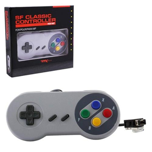 2-Pack Super Famicom Style Controller Limited Edition For Nintendo Wii