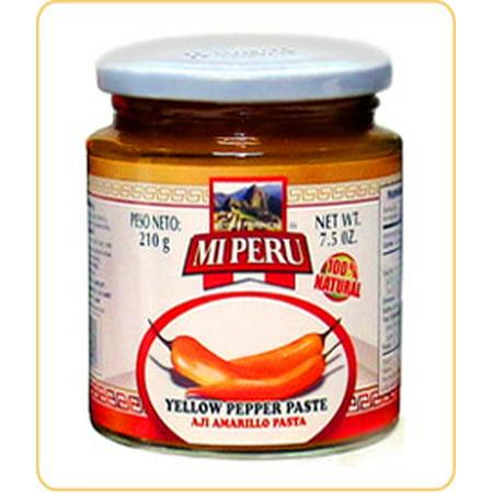Aji Amarillo Pepper - Peru Food Aji Amarillo Paste 7.5oz