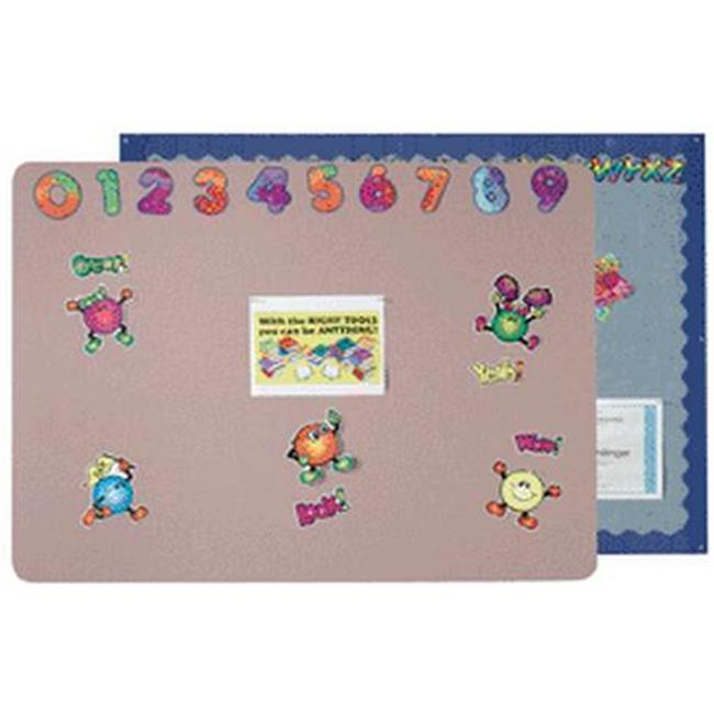 AARCO Products SV1824706 Greige Vinyl Wrapped Display Board