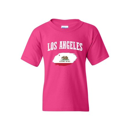 Los Angeles California Unisex Youth Kids T-Shirt Tee