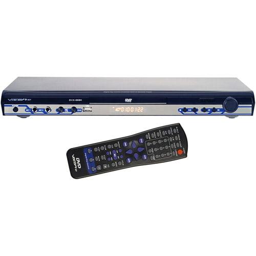 VocoPro DVX668K Multi Format Karaoke Player