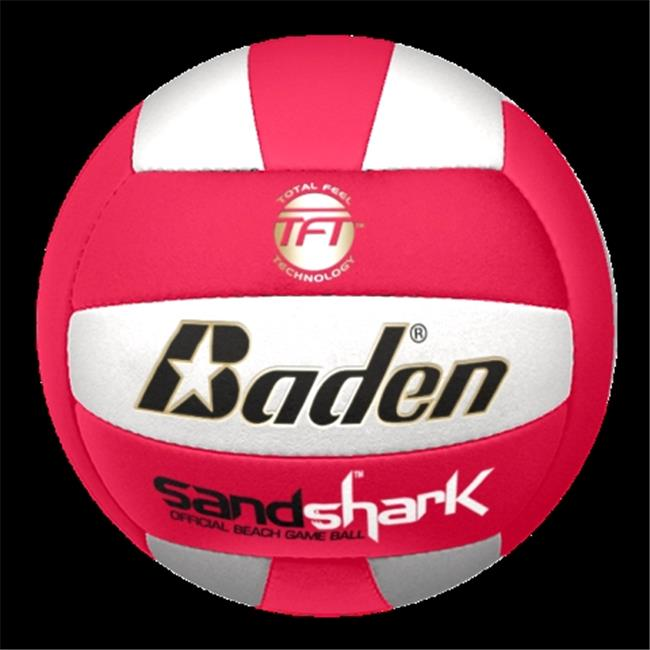 Baden BVC18C-02-F Sandshark Official Size 5 Ultra Microfiber Cover Beach Outdoor Volleyball