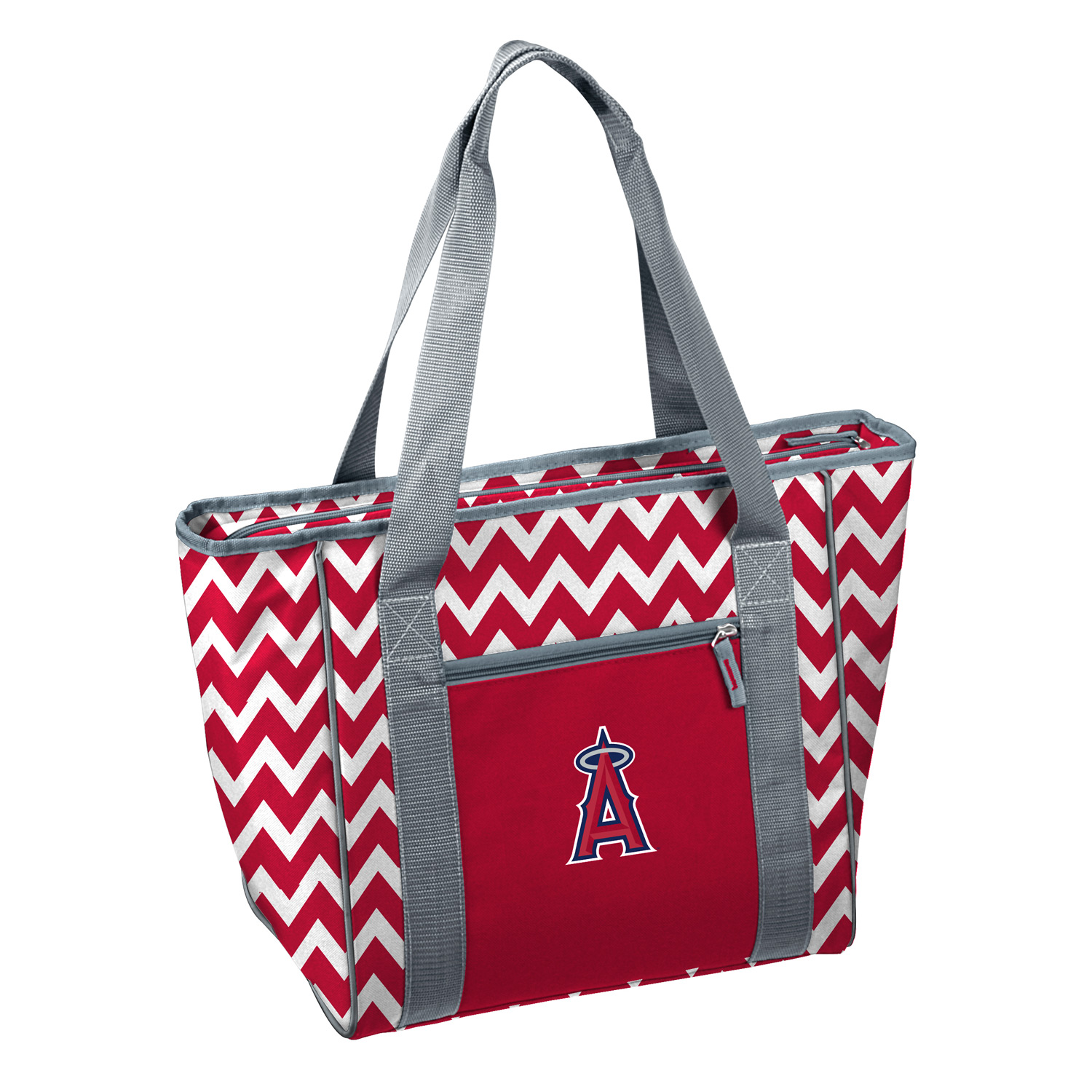 Los Angeles Angels MLB Chevron 30 Can Insulated Cooler Tote by Logo 034636