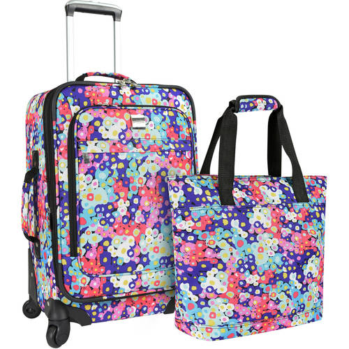 U.S. Traveler Langford 2-Piece Women's Luggage Set, Multiple Colors