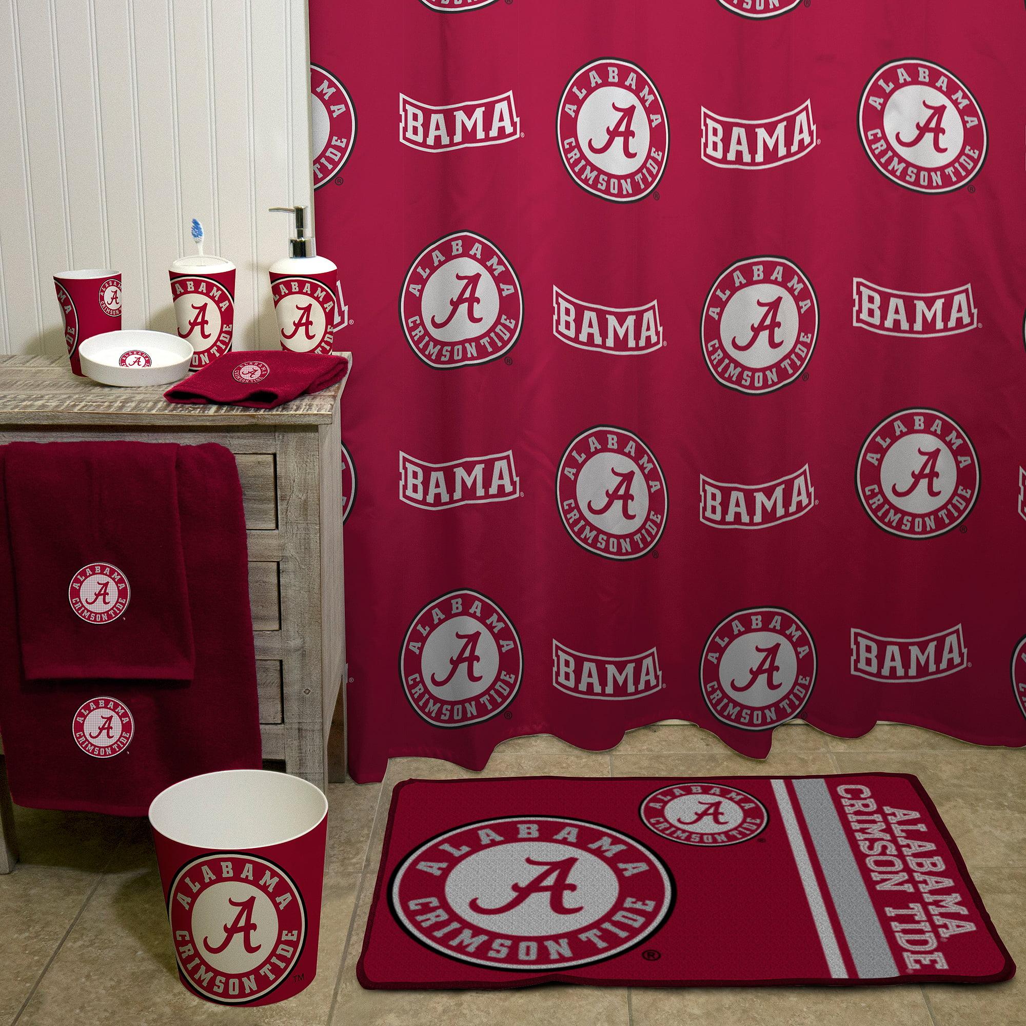 NCAA University Of Alabama Shower Curtain 1 Each