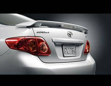 UNPAINTED FACTORY STYLE SPOILER fits the 2009-2013 TOYOTA COROLLA