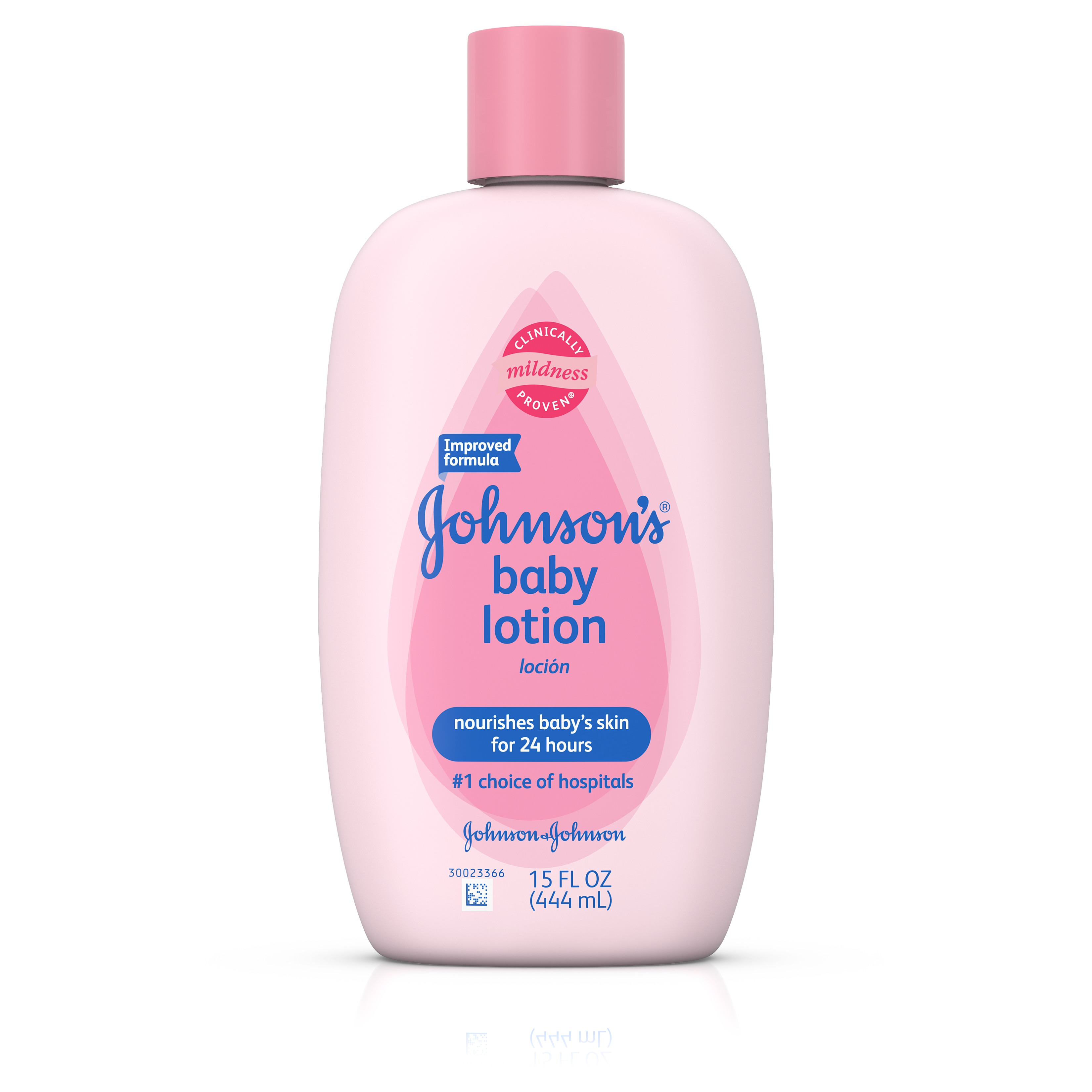 Johnson's Baby Lotion For Skin Hydration, 15 Fl. Oz.