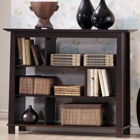 Baxton Studio Havana Low Height Bookshelf