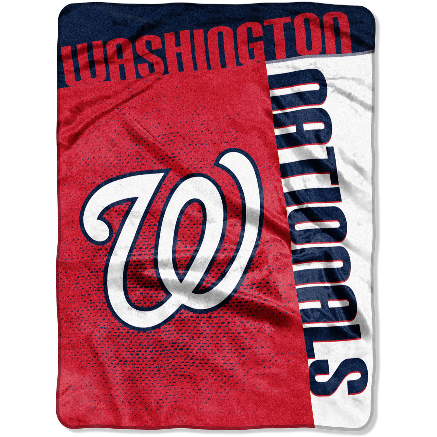 "MLB Washington Nationals ""Strike"" 60"" x 80"" Raschel Throw"